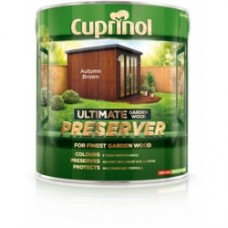 Cuprinol Ultimate Wood Preserver Autumn Brown 4L