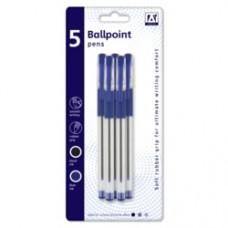 A Star Ballpoint Pens Pack 5