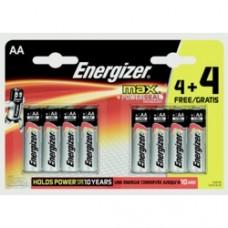 AA Max Batteries 4 Plus 4 Free