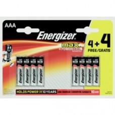 AAA Max Batteries 4 Plus 4 Free