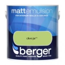Berger Emulsion Matt Olive Jar 2.5ltr