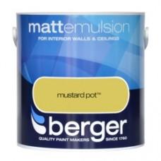 Berger Emulsion Matt Mustard Pot 2.5Ltr