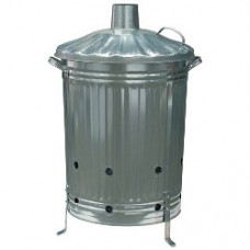 Galvanised Incinerator 90Ltr