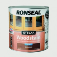10YR Woodstain Satin Dark Oak 750ml