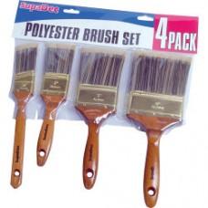 Supa Poly Brush Set x4