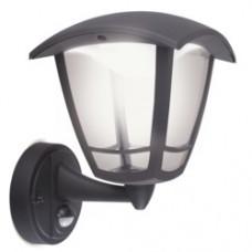 EXT LED COACH LANTERN PIR SENSOR