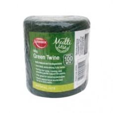 Amb Jute Twine Green 50g/50m