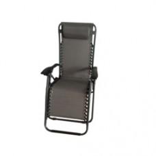 SupaGarden Zero Gravity Chair Grey / Black