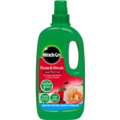 Miracle-Gro Rose & Shrub Food Liquid 1L