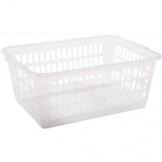 11070 Wham Large Handy Basket Clear