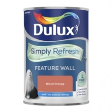 Dulux Simply Refresh One Coat Feature Wall 1.25L Blood Orange