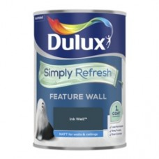 Dulux Simply Refresh One Coat Feature Wall 1.25L Ink Well