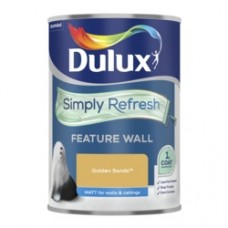 Dulux Simply Refresh One Coat Feature Wall 1.25L Golden Sands