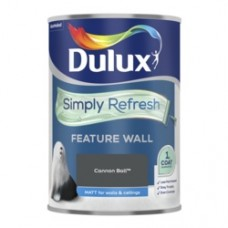Dulux Simply Refresh One Coat Feature Wall 1.25L Cannon Ball