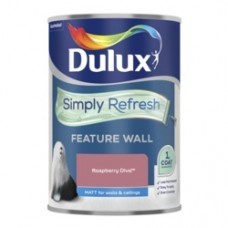 Dulux Simply Refresh One Coat Feature Wall 1.25L Raspberry Diva