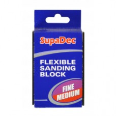 511737 Fine/Medium Flexible Sanding Block