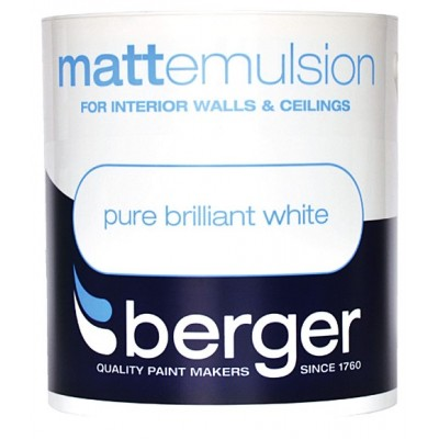 Berger Emulsion Matt PBW 1Ltr