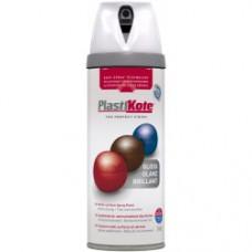 400ml White Premium Spray Paint Gloss