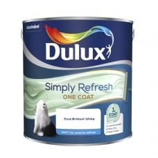 Simply Refresh Matt 2.5L - Pure Brilliant White