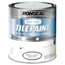 Tile Paint One-Coat White 750ml