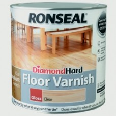 Diamond Hard Floor Varnish Gloss 2.5Ltr