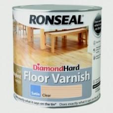 Diamond Hard Floor Varnish Satin 2.5Ltr