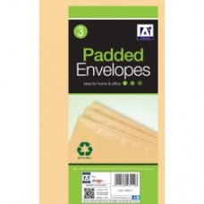 170 x 225 Padded Brown Envelopes (x4)