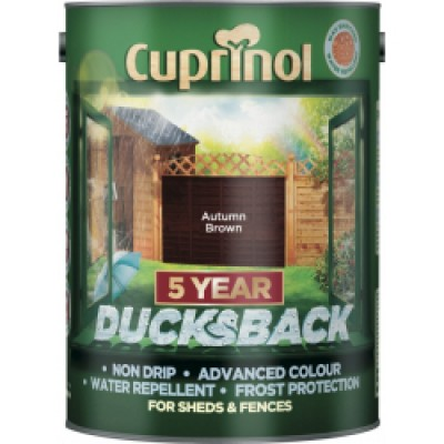 Ducksback Autumn Brown 5Ltr