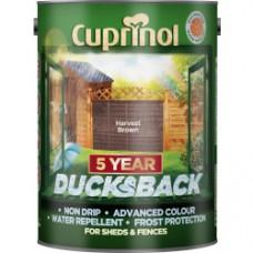 Ducksback Harvest Brown 5Ltr