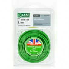 ALM Trimmer Line Green 20mtr