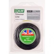 ALM Trimmer Line Black 15mtr