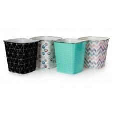Bins Assorted Square Plastic