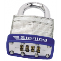 Padlock Laminated Steel Combination 50mm