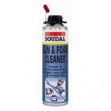 Soudal Gun & Foam Cleaner Colourless 500ml aerosol can