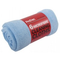 Microfibre Clothes - Pack of 6
