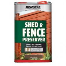 Shed & Fence Wood Preserver Black 5L