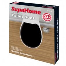 Deluxe Black Toilet Seat