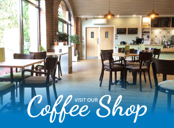 Visit our coffee shop